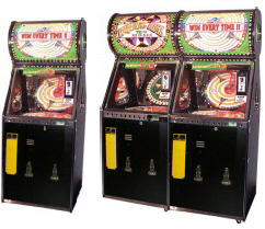 Wheel Deal 1 and 2 Player Quick Coin Roller Ticket Redemption Game From Benchmark Games