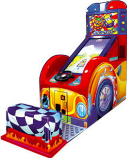 Willie Wheels Kids Driving Video Arcade Game - LAI Games