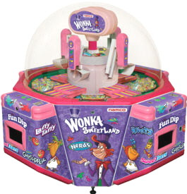 Wonka Sweetland Prize Candy Redemption Game Prize Redemption Game From Namco
