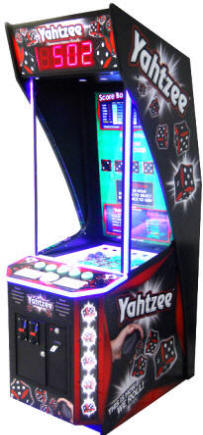 Yahtzee Arcade Ticket Redemption Ball Pop Video Arcade Game From Coastal Amusements