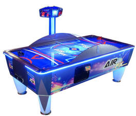 AirFX Air Hockey Table Game With LED Lighting From ICE Games