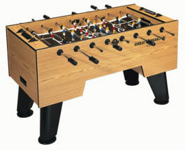 Aermican Soccer Table Foosball Table By Great American Recreation Equipment