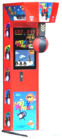 Angry Penguins Kids Boxer Boxing Machine