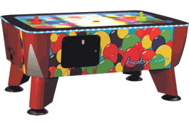 Baby Air Hockey  | Commercial Coin Operated Kids Air Hockey Table | ICE Games