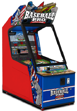 Baseball Pro Junior Pitch And Bat Baseball Arcade Game From Andamiro