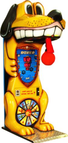 Boxer Dog - Kids Boxing Machine Game From Kalkomat / IGPM