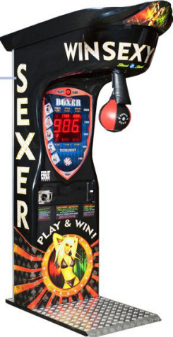 Boxer Sexer - Prize Vending Boxing Machine From Kalkomat / IGPM