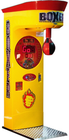Boxer World Championship 2011 Boxing Machine From Punchline Games