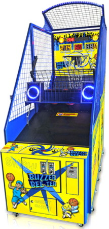 Buzzer Bee-Ter Basketball Arcade Machine | Benchmark Games