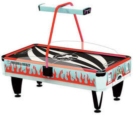 Challenger Neon Air Hockey Table -  Commercial Coin Operated From Barron Games