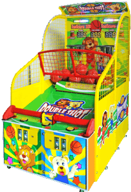 Double Shot Basketball Arcade Game From Barron Games