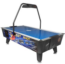 Best Shot Air Hockey Table   Coin Operated From Valley Dynamo