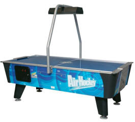 Blue Streak Air Hockey Table   Coin Operated From Dynamo