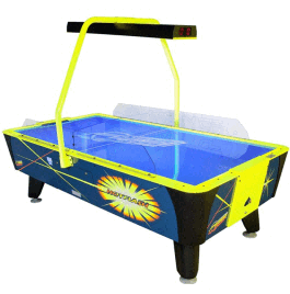 Hot Flash II Air Hockey Table - Coin Operated From Dynamo