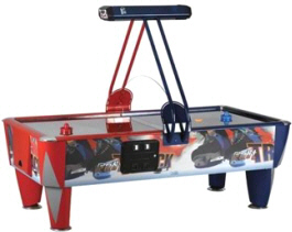 Fast Track Air Hockey Table | Commercial Coin Operated | ICE Games