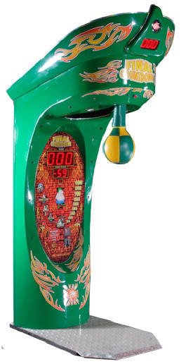 Final Countdown Boxer Coin Operated Arcade Boxing Machine From PunchLine