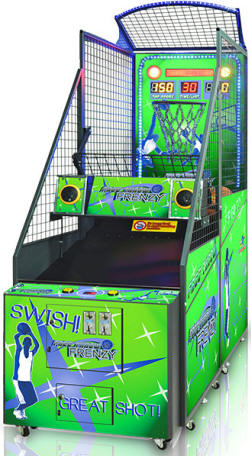 Free Throw Frenzy Basketball Arcade Game From Benchmark Games