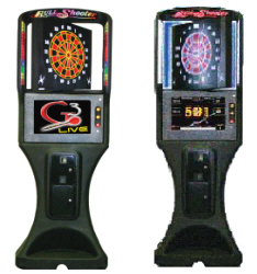 Galaxy 3 Live /  Galaxy III Live Electronic Bar League Dartboards / Darts Machine