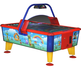 Gameland Kids / Child / Small Coin Operated Air Hockey Table From From Punchline Games