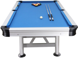 Florida Outdoor Pool Table From Garlando