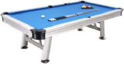 Florida Waterproof Outdoor Pool Table From Garlando