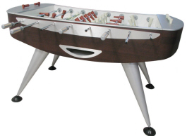 Lusso Wenge / Wood Grain Limited Edition Luxury Foosball Table From Garlando