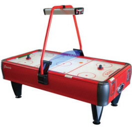 Genesis Air Hockey Table - Coin Operated