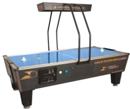 Shelti / Gold Standard Games Tournament Elite Model Air Hockey Table -