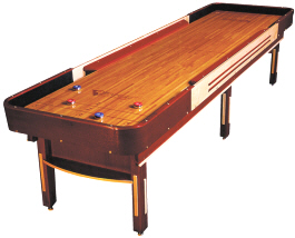 Venture Grand Deluxe Cushion Shuffleboard By Venture Entertainment Shuffleboards