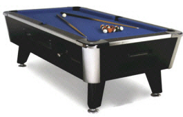 Great American Legacy Pool Table | Coin Operated and DBA Models