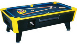 Neon Lites Pool Table - Coin Operated | Great American