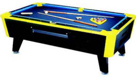 Neon Lites Pool Table Blacklight Pool Table | Great American
