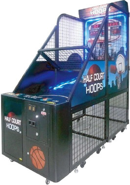 Half Court Hoops Arcade Basketball Machine | Family Fun Companies