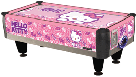 Hello Kitty Air Hockey Table From Barron Games / SEGA