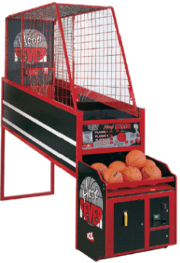 Hoop Fever Coin Operated or Free Play Basketball Arcade Game By Innovative Concepts In Entertainment / ICE Games