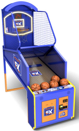 Hoops FX Basketball Arcade Machine / Hoop Fever Basketball From ICE GAMES