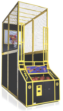 Hot Shot Basketball Arcade Game From Skee-Ball / Baytek