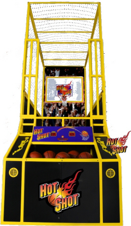 Hot Shot Basketball Arcade Game From Skee-Balll