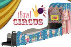 iBowl Circus Coin Operated Mini Bowling Lane