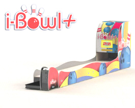 iBowl + Plus Coin Operated Mini Bowling Alley Machine From Imply Tecnologia Eletronica