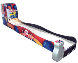 iBowl + Plus Mini Bowling Alley Arcade Machine From Imply Tecnologia Eletronica
