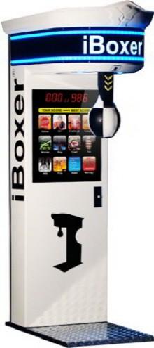 iBoxer 2012 Boxing Machine   White Model