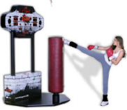 iFight Interactive Fighting Sports Arcade Game From Imply Games