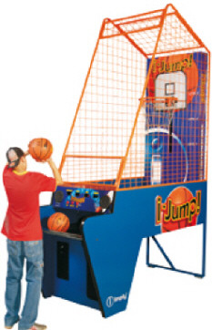 iJump Basketball Machine Arcade Game From Imply Tecnologia Eletronica