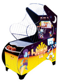 iJump Kids Basketball Machine Arcade Game From Imply Games