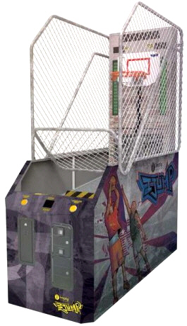 i-Jump Street Coin Operated Basketball Arcade Machine From Imply