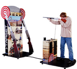 iTarget Arcade Shooting Gallery Ticket Redemption Game From Imply Games