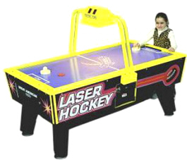 Jr.Junior Laser Hockey Table - Coin Operated | Great American