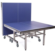 Killerspin MyT10 Club Pro ping Pong Tennis Table - Folded