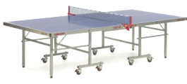 Killerspin MyT Outdoors Ping Pong Tennis Table - Side